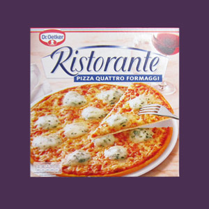 Pizza Verpackung